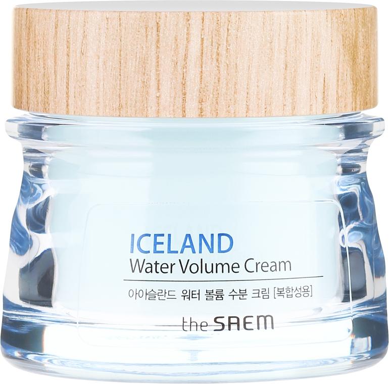 Crema idratante per pelli miste - The Saem Iceland Hydrating Water Volume Cream — foto N2