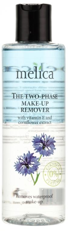 Struccante con vitamina E ed estratto di fiordaliso - Melica Organic The Two Phase Make-Up Remover — foto N1