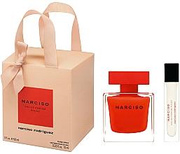 Profumi e cosmetici Narciso Rodriguez Narciso Rouge - Set (edp/90ml + edp/mini/10ml)