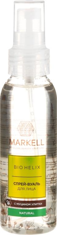 Spray viso con estratto di bava di lumaca - Markell Cosmetics Bio Helix