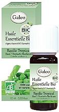Profumi e cosmetici Olio essenziale di basilico tropicale - Galeo Organic Essential Oil Basilic Tropical