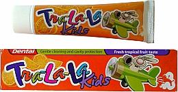 "Profumi e cosmetici Dentifricio ""Tropic"" - Dental Tra-La-La Kids Tropical Fruit Toothpaste"