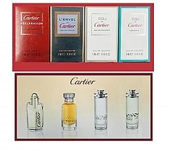Profumi e cosmetici Cartier Perfume Mini Set For Men - Set (edt/4ml + edt/2x5ml + edp/5ml)