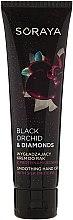 Profumi e cosmetici Crema mani levigante alle proteine della seta - Soraya Black Orchid & Diamonds Smoothing Hand Cream