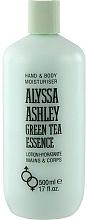 Profumi e cosmetici Alyssa Ashley Green Tea Essence - Lozione corpo