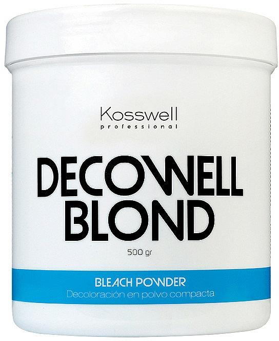 Polvere schiarente, blu - Kosswell Professional Decowell Blond — foto N3