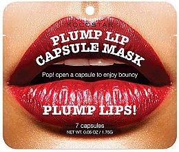 Profumi e cosmetici Siero labbra rimpolpante in capsule - Kocostar Plump Lip Capsule Mask Pouch
