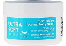 Profumi e cosmetici Crema idratante viso e corpo - Ultra Soft Naturals Moisturising Face and Body Cream