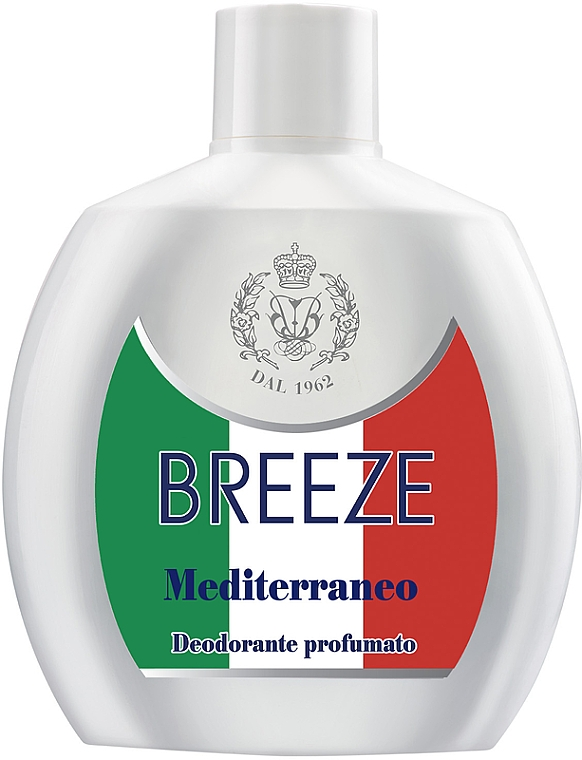 Breeze Squeeze Deodorant Mediterraneo - Deodorante corpo