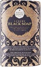 """Profumi e cosmetici Sapone """"Lussuoso nero """" - Nesti Dante Luxury Black Soap"""