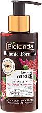 Profumi e cosmetici Olio detergente viso - Bielenda Botanic Formula Pomegranate Oil + Amaranth Facial Cleansing Cream Oil