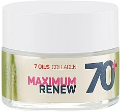 """Profumi e cosmetici Crema rivitalizzante antirughe 70+ """"Collagene + 7 oli"""" - Vollare Cosmetics Age Creator"""