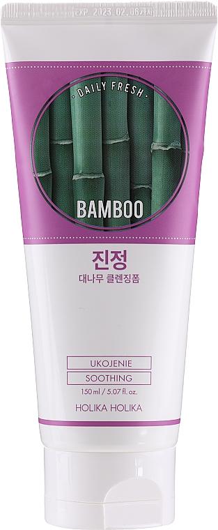Schiuma detergente viso - Holika Holika Daily Fresh Bamboo Cleansing Foam