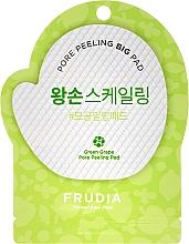Profumi e cosmetici Peeling viso con estratto di uva verde - Frudia Pore Peeling Big Pad Green Grape