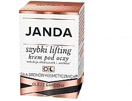 Profumi e cosmetici Crema liftante contorno occhi - Janda