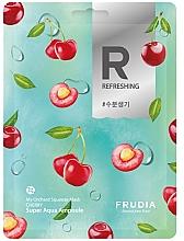 Profumi e cosmetici Maschera in tessuto levigante alla ciliegia - Frudia My Orchard Squeeze Mask Cherry