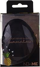 Profumi e cosmetici Spazzola per capelli, nera - Beauty Look Tangle Definer Brush & Go