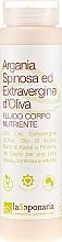 """Profumi e cosmetici Fluido corpo """"Argania & Extravergine"""" - La Saponaria Argan & Olive Oil Body Fluid"""