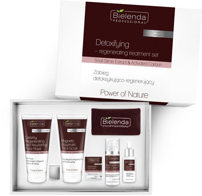 Set - Bielenda Professional Power Of Nature (mask/150ml+scrub/150g+ cr/50ml+serum/30ml)