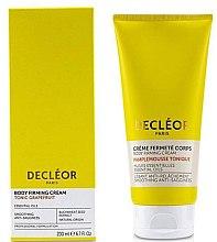 Profumi e cosmetici Crema nutriente al pompelmo per l'elasticità del corpo - Decleor Tonic Grapefruit Body Firming Cream
