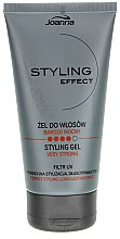 """Profumi e cosmetici Gel per capelli """"Fissaggio extra"""" - Joanna Styling Effect Styling Gel Very Strong"""