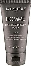 Profumi e cosmetici Gel corpo, capelli e barba - La Biosthetique Homme Hair Beard Body Wash