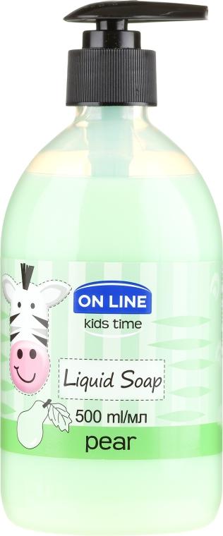 Sapone liquido per le mani - On Line Kids Time Liquid Soap Pear