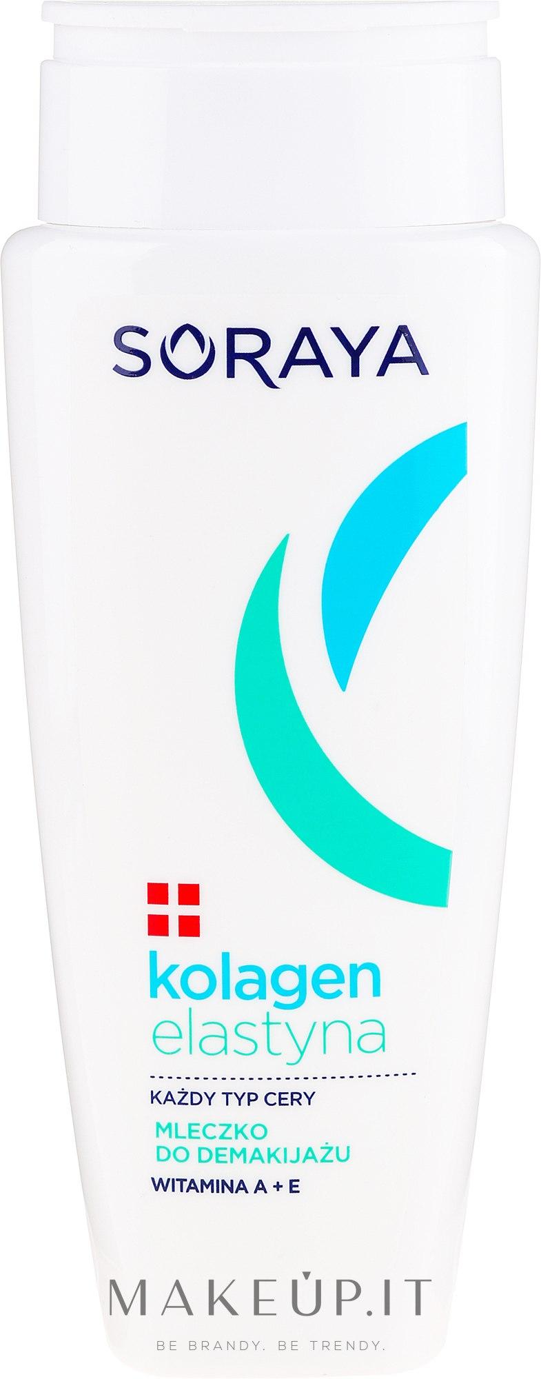 Latte struccante - Soraya Kolagen i Elastyna — foto 200 ml