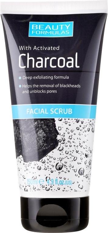 Scrub per la profonda pulizia della pelle - Beauty Formulas Charcoal Facial Scrub