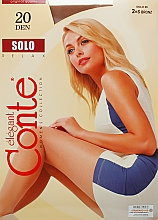"""Profumi e cosmetici Collant """"Solo"""" 20 Den, bronz - Conte"""