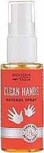 Profumi e cosmetici Spray mani antibatterico - Wooden Spoon Clean Hands Natural Spray