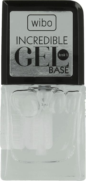 Base per smalto-gel - Wibo Incredible Gel Base