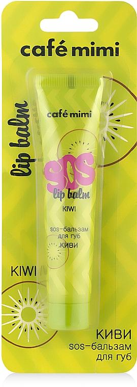 "Balsamo labbra ""Kiwi"" - Cafe mimi Sos Lip Balm Kiwi"