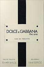 Profumi e cosmetici Dolce&Gabbana The One - Set (edt/50ml + edt/7.4ml)