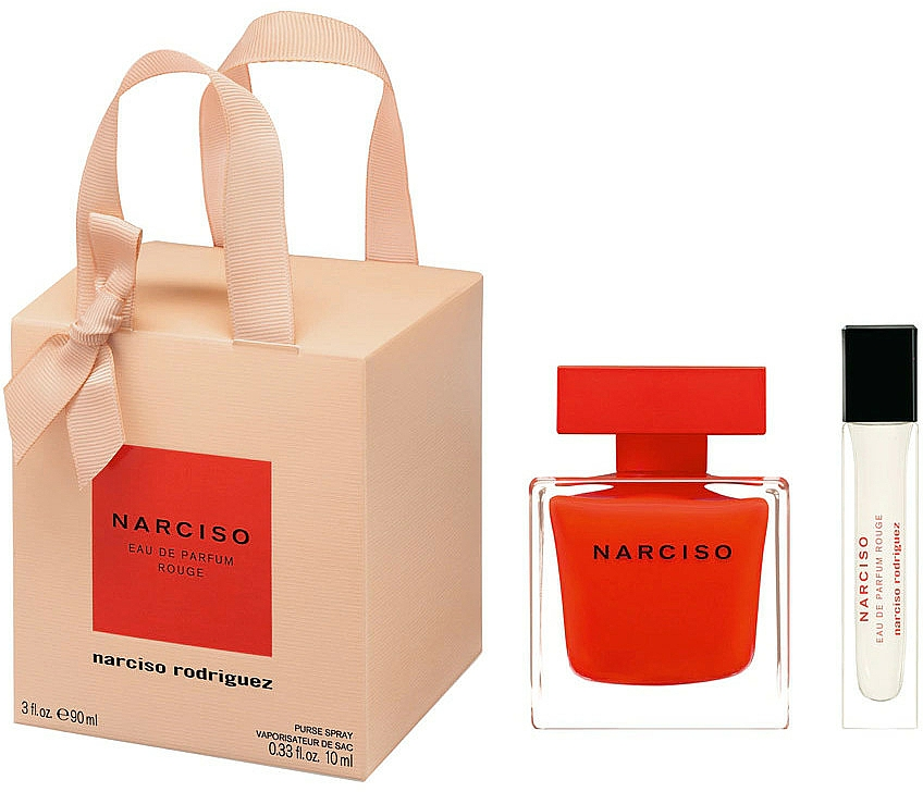 Narciso Rodriguez Narciso Rouge - Set (edp/90ml + edp/mini/10ml)
