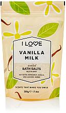 """Profumi e cosmetici Sale da bagno """"Latte alla vaniglia"""" - I Love Vanilla Milk Bath Salt"""