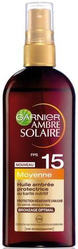 Olio-spray abbronzante SPF 15 - Garnier Ambre Solaire — foto N1