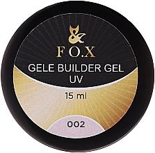 Profumi e cosmetici Gel camouflage - F.O.X Gele Builder Gel UV Pink 002