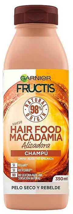 Shampoo ultra-nutriente - Garnier Fructis Hair Food Macadamia Smoothing Shampoo