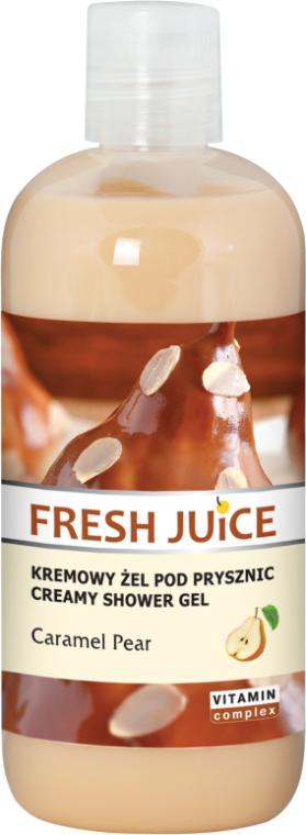 "Crema doccia ""Pera al caramello"" - Fresh Juice Caramel Pear Creamy Shower Gel"