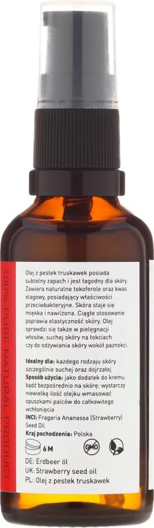 Olio di semi di fragola - Nature Queen Strawberry Seed Oil — foto N4