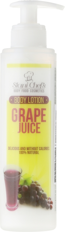 Lozione corpo - Hristina Stani Chef's Grape Juice Body Lotion