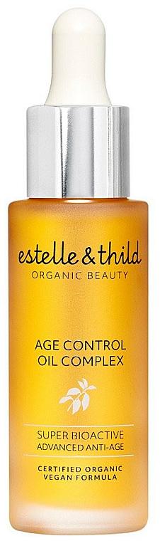 Complesso di oli per il viso - Estelle & Thild Super Bioactive Age Control Oil Complex — foto N1