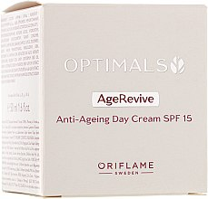 Profumi e cosmetici Crema viso anti-età SPF 15 - Oriflame Optimals Age Revive
