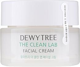 Profumi e cosmetici Crema viso con ceramidi e acido ialuronico - Dewytree The Clean Lab Facial Cream