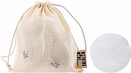 Profumi e cosmetici Dischetti di cotone riutilizzabili - Nothing More Originals Cotons Bambou + Filet