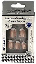 """Profumi e cosmetici Unghie finte """"French"""", 77951 - Top Choice Fashion Design"""