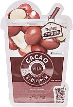 "Profumi e cosmetici Maschera viso ""Cacao"" - Mediheal Vita Cacao Mask"
