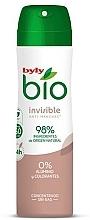 Profumi e cosmetici Deodorante spray - Byly Bio Natural 0% Invisible Desdorant Spray