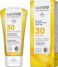 Profumi e cosmetici Crema solare per il viso - Lavera Sensitive Sun Cream Anti-Age SPF 30